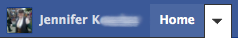 Facebook settings location