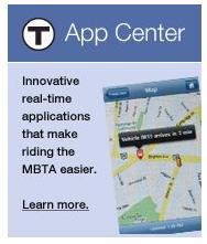 MBTA app center