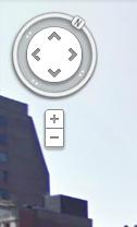 Navigation circle in Street View
